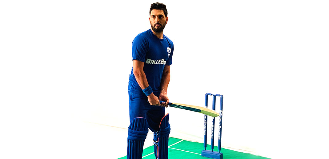 Yuvraj Singh all set for his new innings with BalleBaazi.com