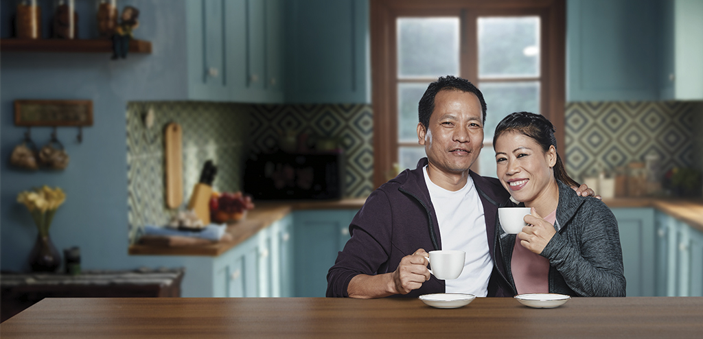 Nestle Everyday appoints Mary Kom and her husband Karong Onler Kom as brand ambassadors