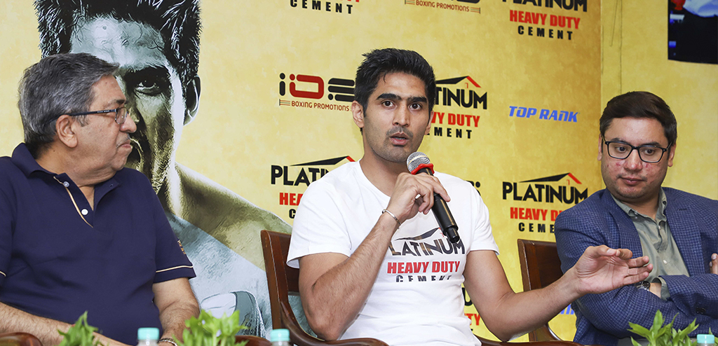 Vijender Singh targets World Title in 2020