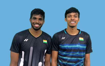 IOS Sports signs French Open Super 750 Silver Medallists Chirag Shetty and Satwiksairaj Rankireddy