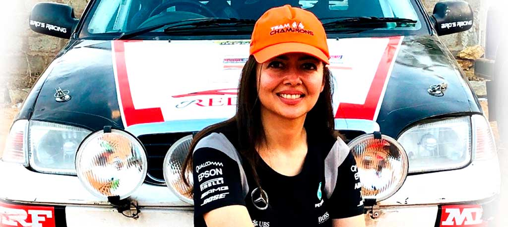 IOS Sports Signs Premier Indian Rally Car Driver Garima Avtar