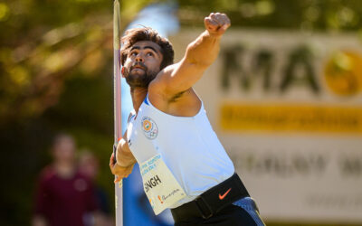 IOS Sports Signs India's Javelin Sensation Shivpal Singh